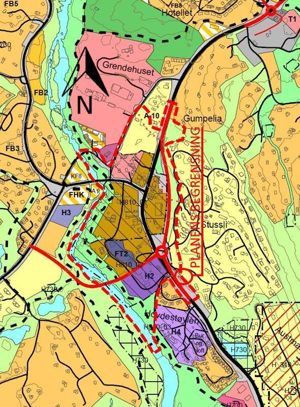 Områdeplan Hovden sentrum