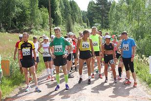 Start maraton i Unionsmaraton i 2014 . Foto: Oddvar Røsten