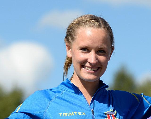 Hedda Hynne satte ny 800 m-pers og var bare 2 tideler bak det internasjonale OL-kravet. (Arkivfoto: Bjørn Johannessen)