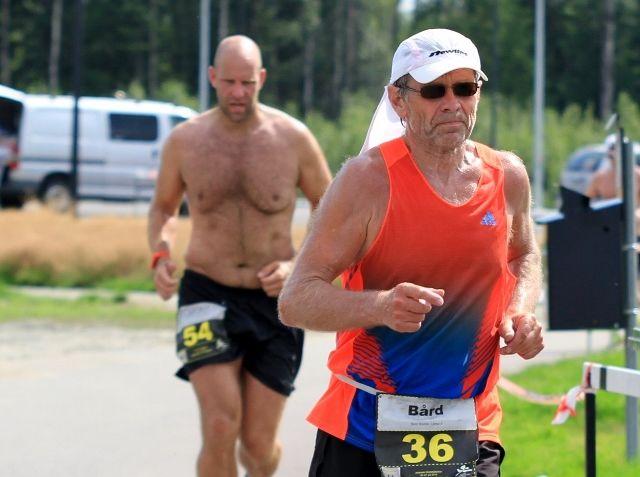 Bård Rødde har også løpt mange ultraløp, her fra Romerike Ultrafestival i 2014 (foto: Bjørn Hytjanstorp).