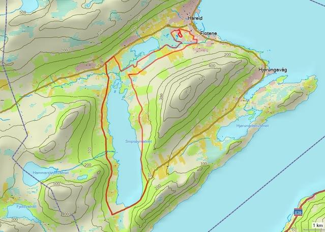 Nordvestmaraton_2014_kart_detaljert