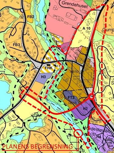 Områdeplan Hovdensentrum