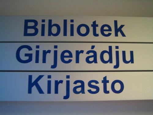 Bibliotek-Girjerádju-Kirjasto