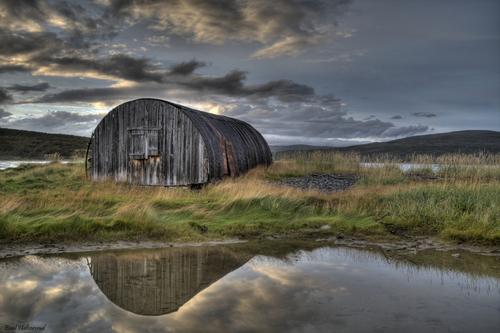 Gammelt bygg i olderfjord