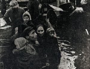 Evakuering i Kåfjord