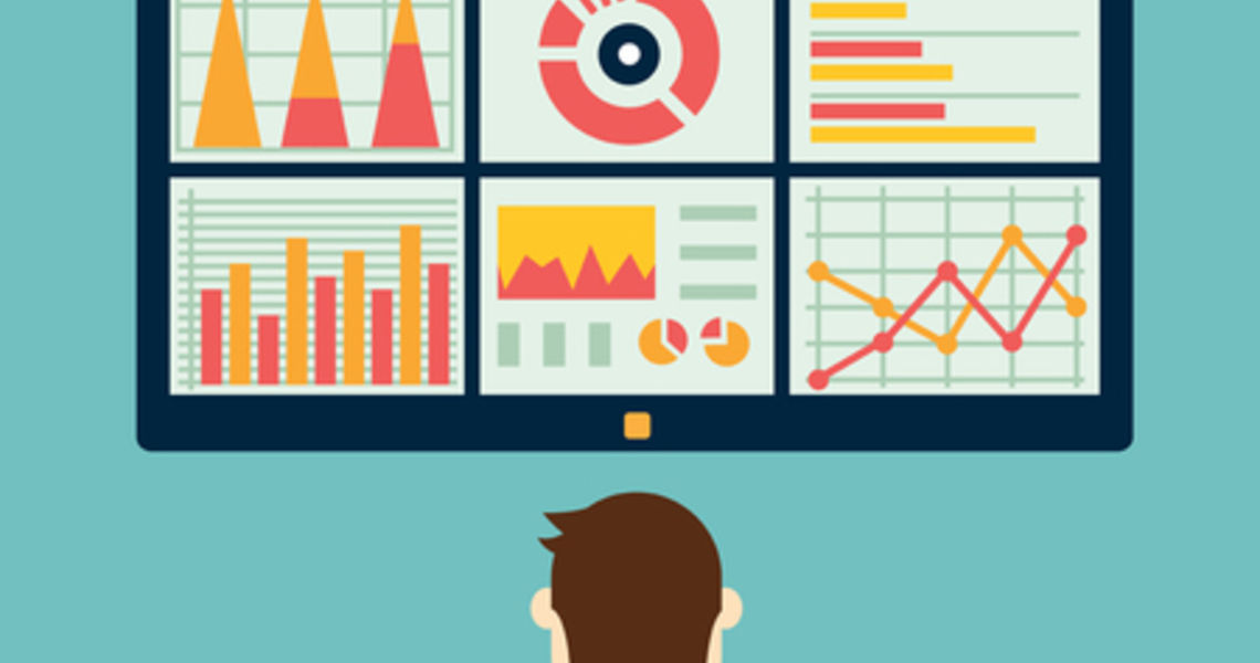 Analysis of information on the dashboard. Monitoring and statistics