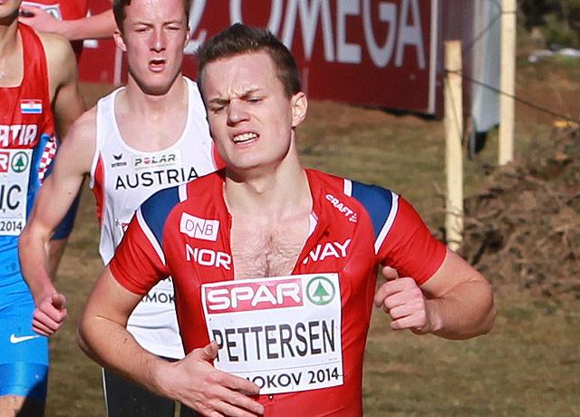 Magnus Hannevig Pettersen har satt ny 800 m-pers med 1.51,46. (Arkivfoto: Kjell Vigestad)