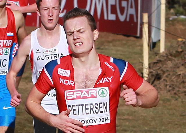 Magnus Hannevig Pettersen har hatt en flott innendørssesong i USA. (Arkivfoto: Kjell Vigestad)