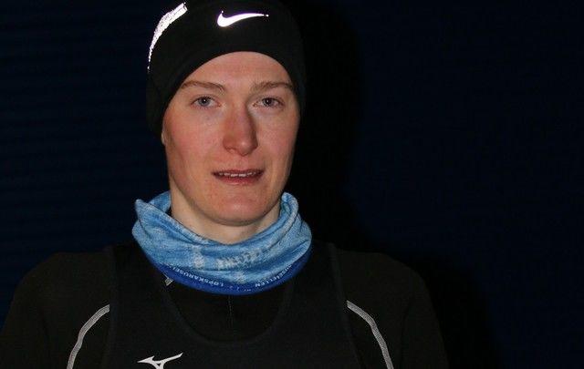 Vinner av 10km Jørgen Tvedt. Foto: Ove Landro