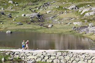 Rallarvegsløpet byr vanligvis på store naturopplevelser. (Foto: Espen Ringom)