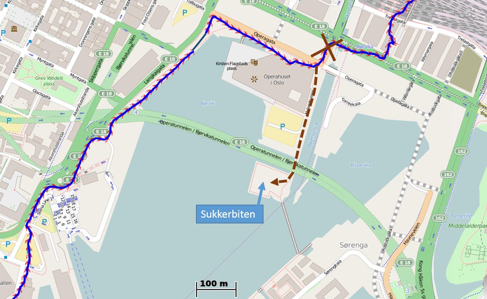 sukkerbiten oslo kart Vaterlandsparken blir startsted for 80 km i EcoTrail Oslo   KONDIS  sukkerbiten oslo kart