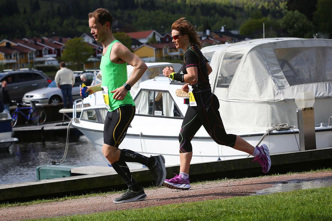 Even Nedberg og Hilde Johansen (foto: Bjørn Hytjanstorp