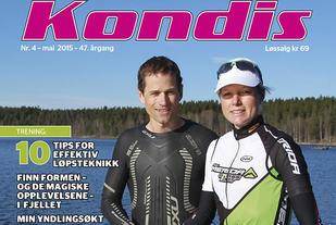 Even Chiodera og Line Foss liker det meste av kondisjonsidrett, men er særlig glad i triatlon. (Foto: Kjell Vigestad)