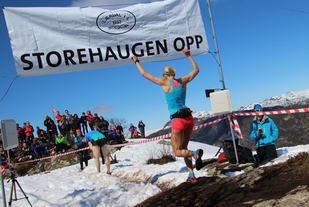 Therese Sjursen i Storhaugen Opp 2015