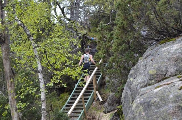 25-Even Nedberg opp Mjølksyretrappa. Ikke så lang, men det kjennes. (640x424).jpg