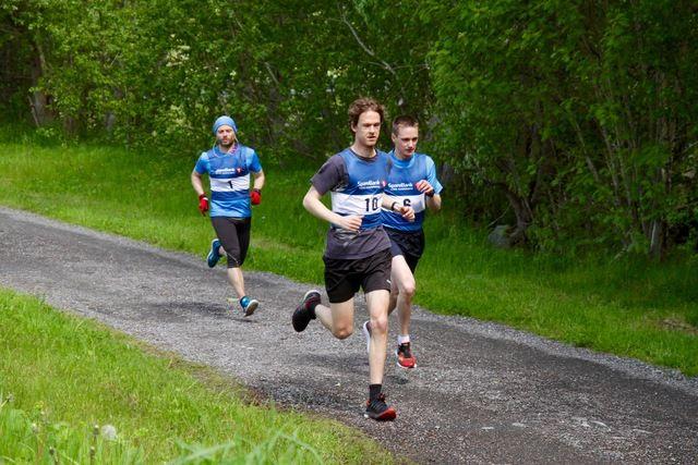 Håvard Bakke Bjerkevik med startnummer 10
