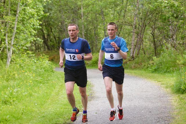 Nikolai Lødemel (7) og Pål Røe (12)