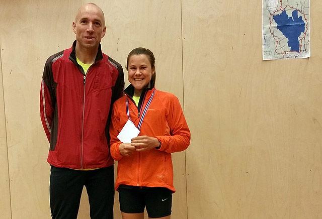 Erik Sjöqvist og Nicoline Baartvedt vant St. Hansgaloppen i deres debut i Maridalen. Foto: Heming Leira