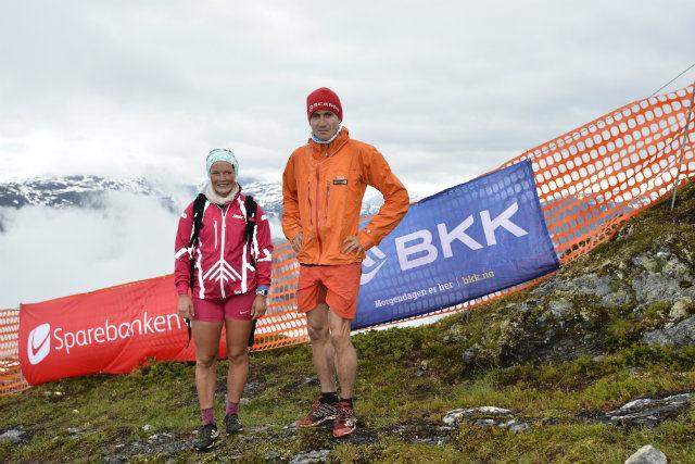 Maren Wangensteen og Lars Erik Skjervheim vant årets Kvasshovden Opp