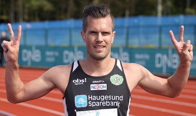 Morten Velde var godt fornøyd med å ta seg til finalen på 1500m.