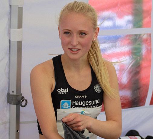 Elisabeth Angell Bergh har ambisjoner om medalje på hjemmebane.