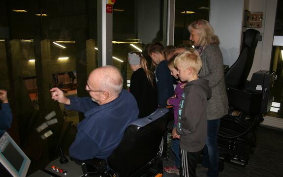 Klassetur til Heimdal Varmesentral for 3. trinn ved Flå skole