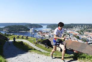 Antonio Perez vant Kanonløpet i 2015. Lørdag 9. september arrangeres årets utgave av det populære motbakkeløpet i Halden. (Foto: Bjørn Johannessen)