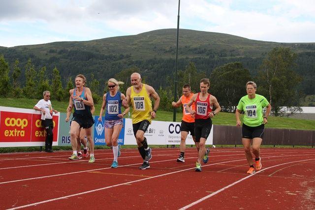 Starten av maraton. Foto: Martin Hauge-Nilsen