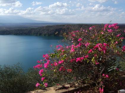 Challa lake i Taveta