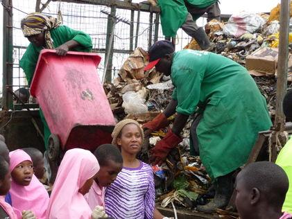 Avfallshåndtering i Taveta