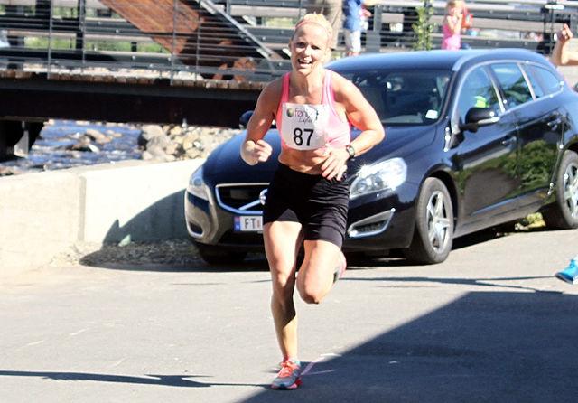 Ida Gjermundshaug Pedersen inn til seier i Fønixløpet fire dager før Geotexmila.