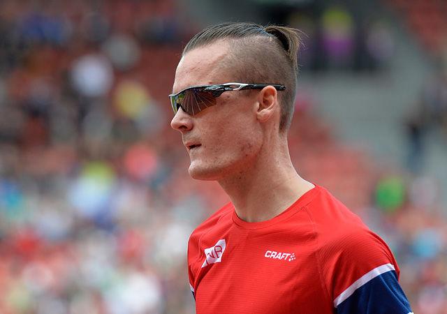 Henrik Ingebrigtsen løp inn til en flott femteplass på 2 mile-løpet i første del av Prefontaine Classic. (Arkivfoto: Bjørn Johannessen)