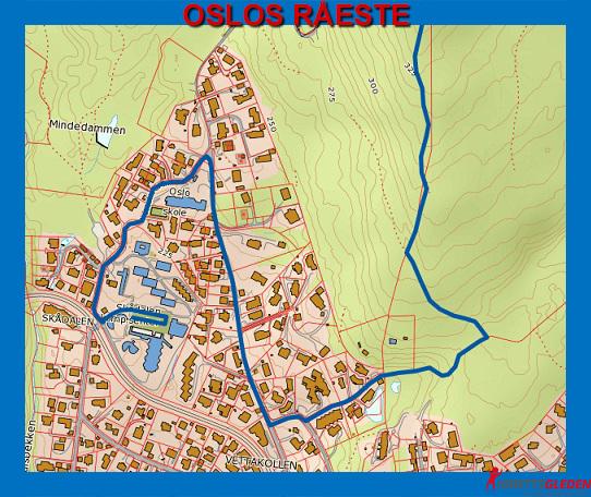 vettakollen kart Lørdag blir det rå idrettsglede opp til Vettakollen   KONDIS  vettakollen kart