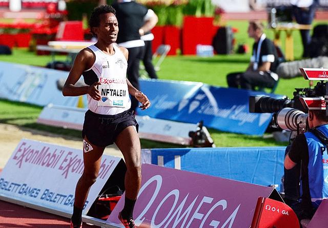 Awet Kibrab Nftalem er eritreisk statsborger, men løper for Tjalve. Nå ble det seier og pers på 3000 m. (Arkivfoto: Erling Pande Braathen)