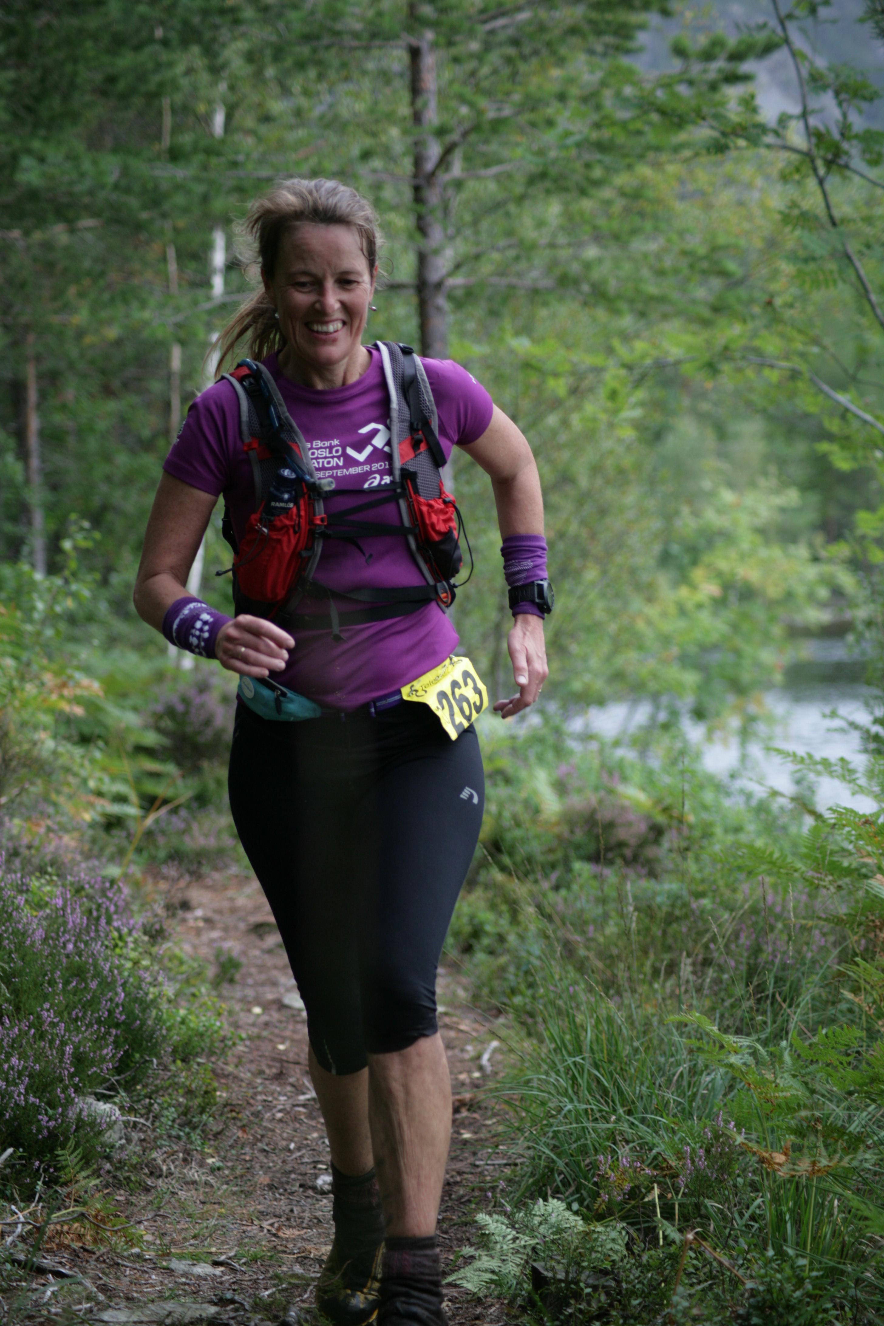 Solvi Hjelmeland Stensli, Romerike Ultraløperklubb, 4. plass 43 km.jpg