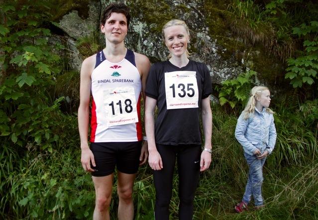 Joachim Tranvåg og Elinn Devold Myklebust vant 34. utgave av Blodslitet i Ålesund