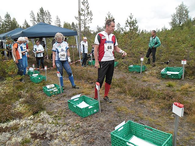 Jørgen Mårtensson, Modum OL, klar til start.