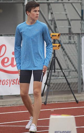 Jakob Ingebrigtsen hadde planer om å løpe fort i dag.