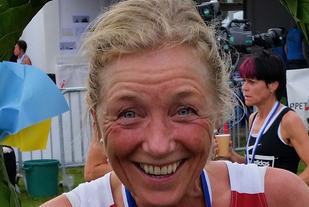 Synøve Brox imponerte i HH-stevnet. Bildet er fra Lidingøloppet i år der hun vant 10 km for veteraner (foto: Meike Hesselink).