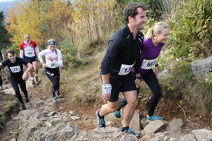 Ivar Formos Minneløp, er et av mange fine høstløp. Står du på Vettakollen (hvor bildet er fra) har du fått en fin tur og får en av Oslos beste utsikter og kan heie på alle løperne som kommer slitne opp motbakken, noe de garantert vil sette stor pris på. Foto: Heming Leira