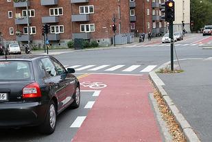 Nye tider: Sykkelen prioritert foran bilen