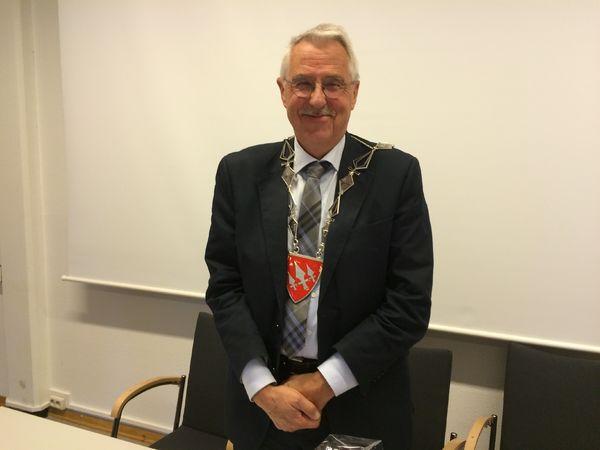 Ordfører Petter Schou