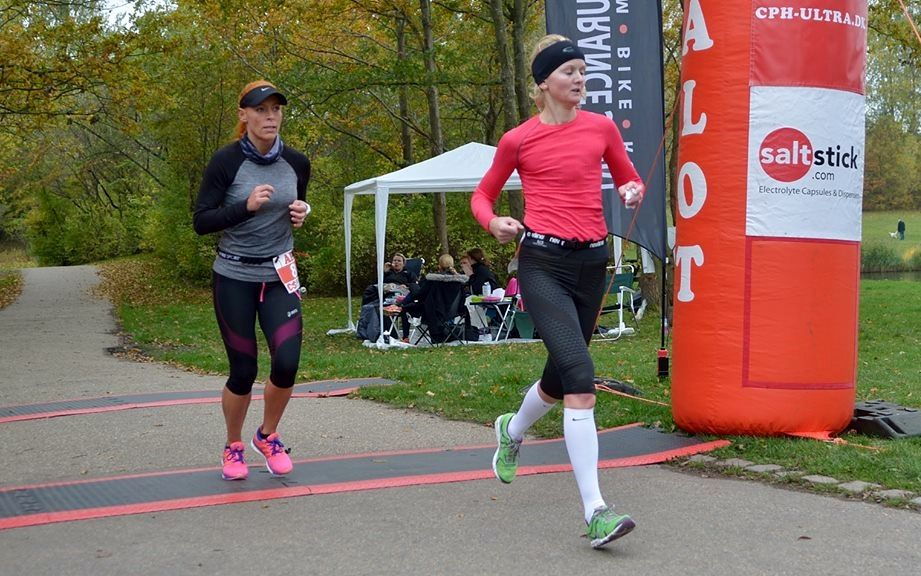 Louise Skak løp inn til seier i CPH 6-Hour Run (foto: Kenneth Illum).