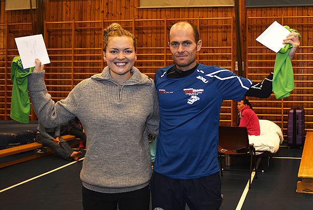 Gunhild Pedersen og Robert Hansen vant Halden Ultraintervall 2015. (Alle foto: Bjørn Johannessen - om ikke annet er spesifisert)