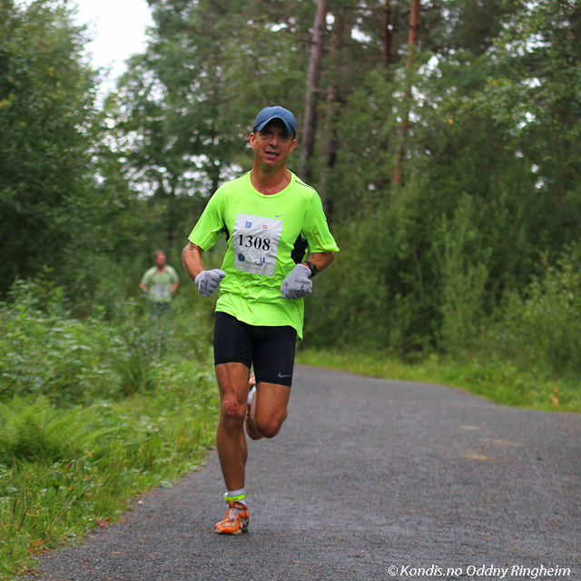 Terje Lyngstad i Bergen Skogsmaraton i 2013. Foto: Oddny Ringheim