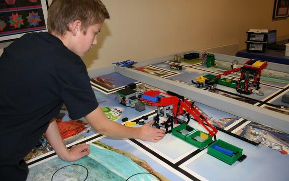Hovin skole gjorde flott innsatsn i Lego League 2015