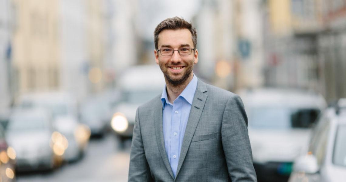 Alexander Haneng, COO og teknologidirektør i Geta AS