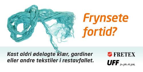 Tekstiler skal ikke i restavfall - ROAF.no
