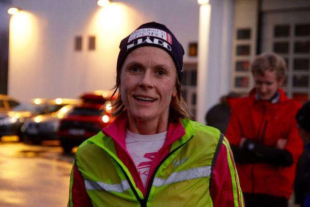 Tonje Brande, Ålesund FIK vant en klar seier på 10 km i dagens løp i Ålesund. Foto: Sigbjørn Anton Lerstad