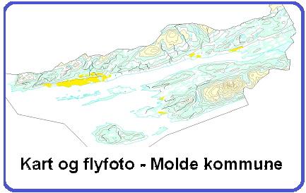 gisline kart Kart over Molde kommune   Molde kommune gisline kart